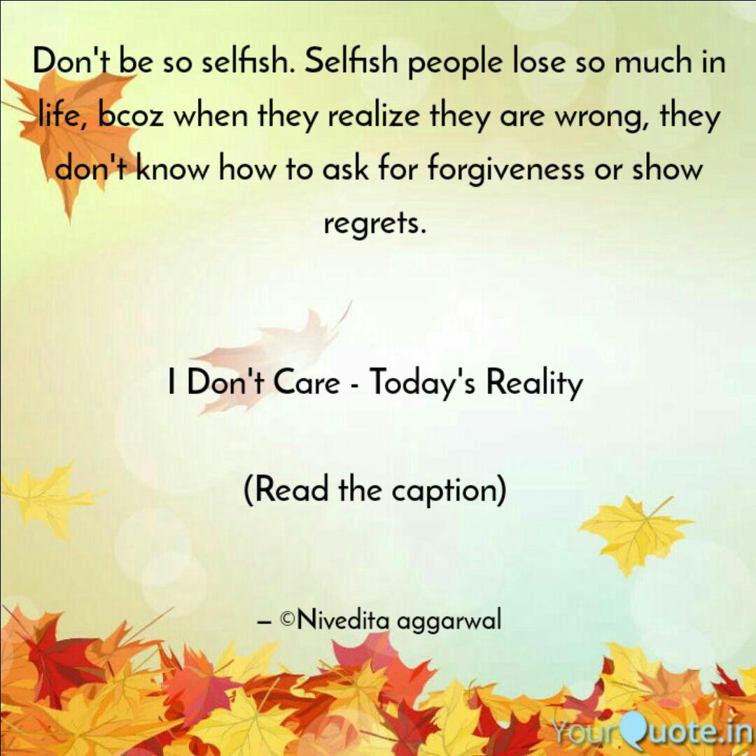 Don\'t be so selfish. Self... | Quotes & Writings by Nivedita ...