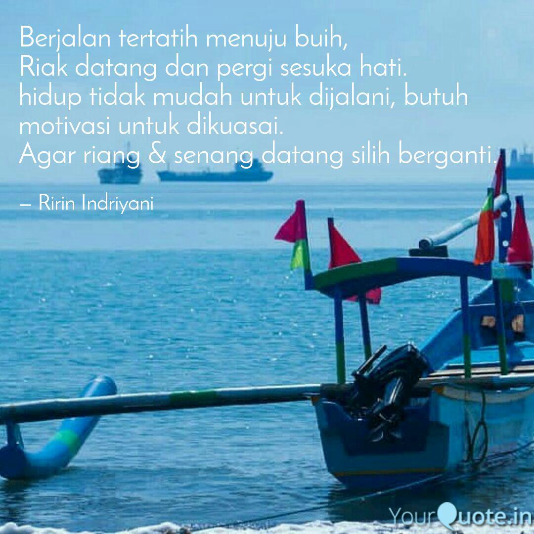 berjalan tertatih menuju quotes writings by ririn