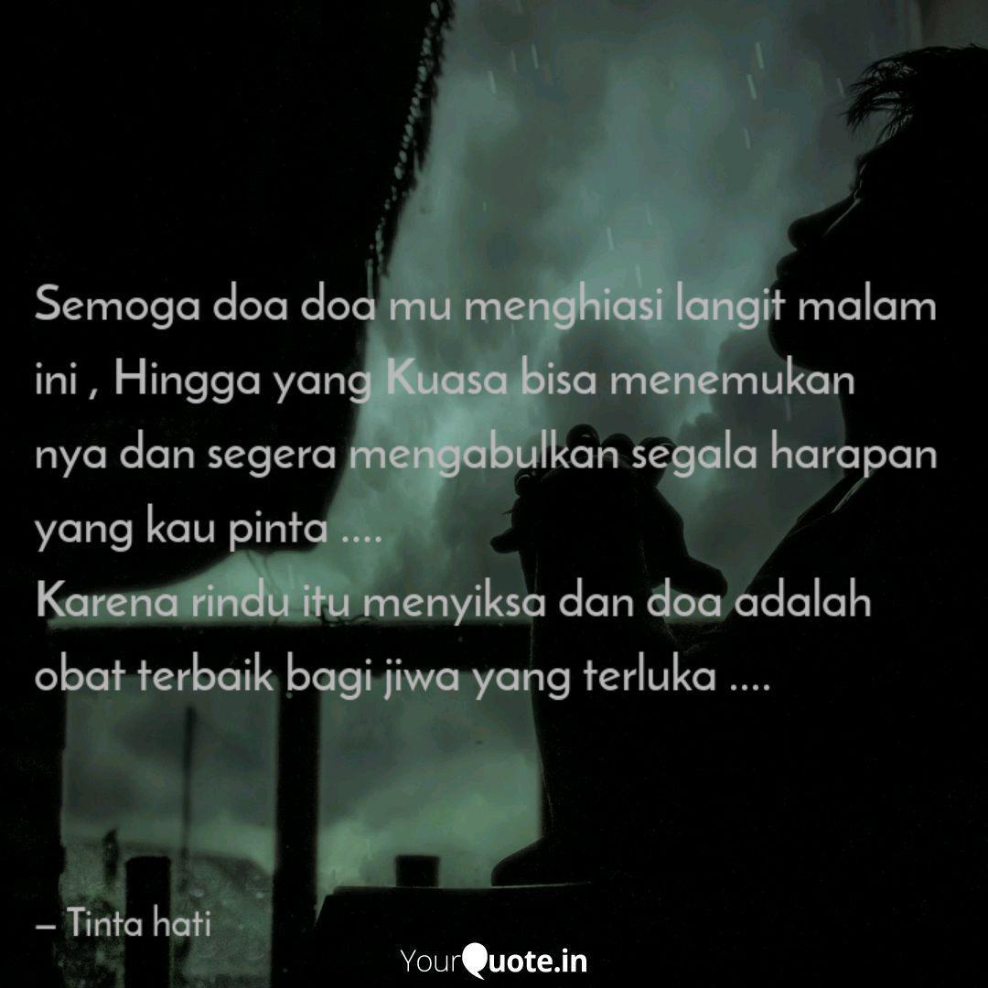 semoga doa doa mu menghia quotes writings by tinta hati