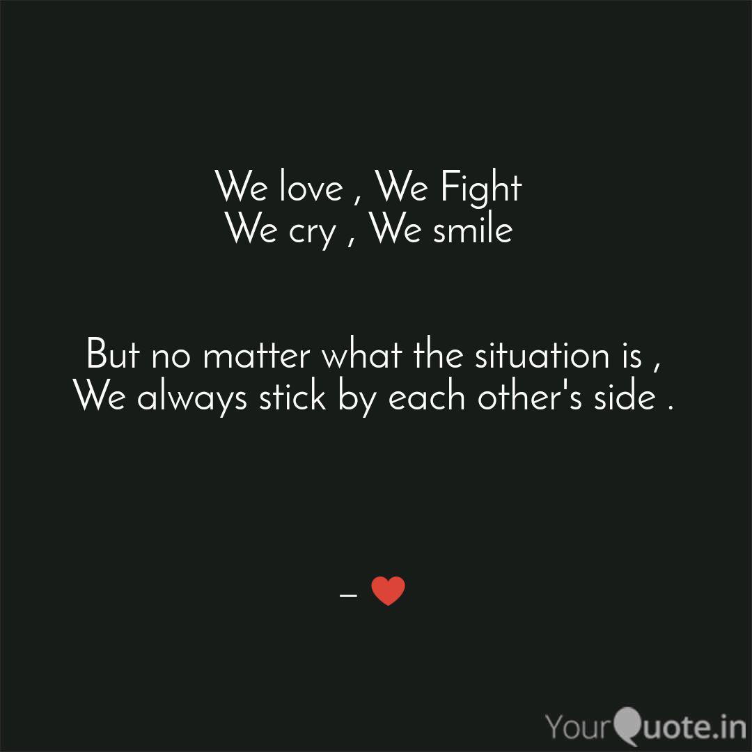 We love , We Fight We cr  Quotes & Writings by Dhruv joshi