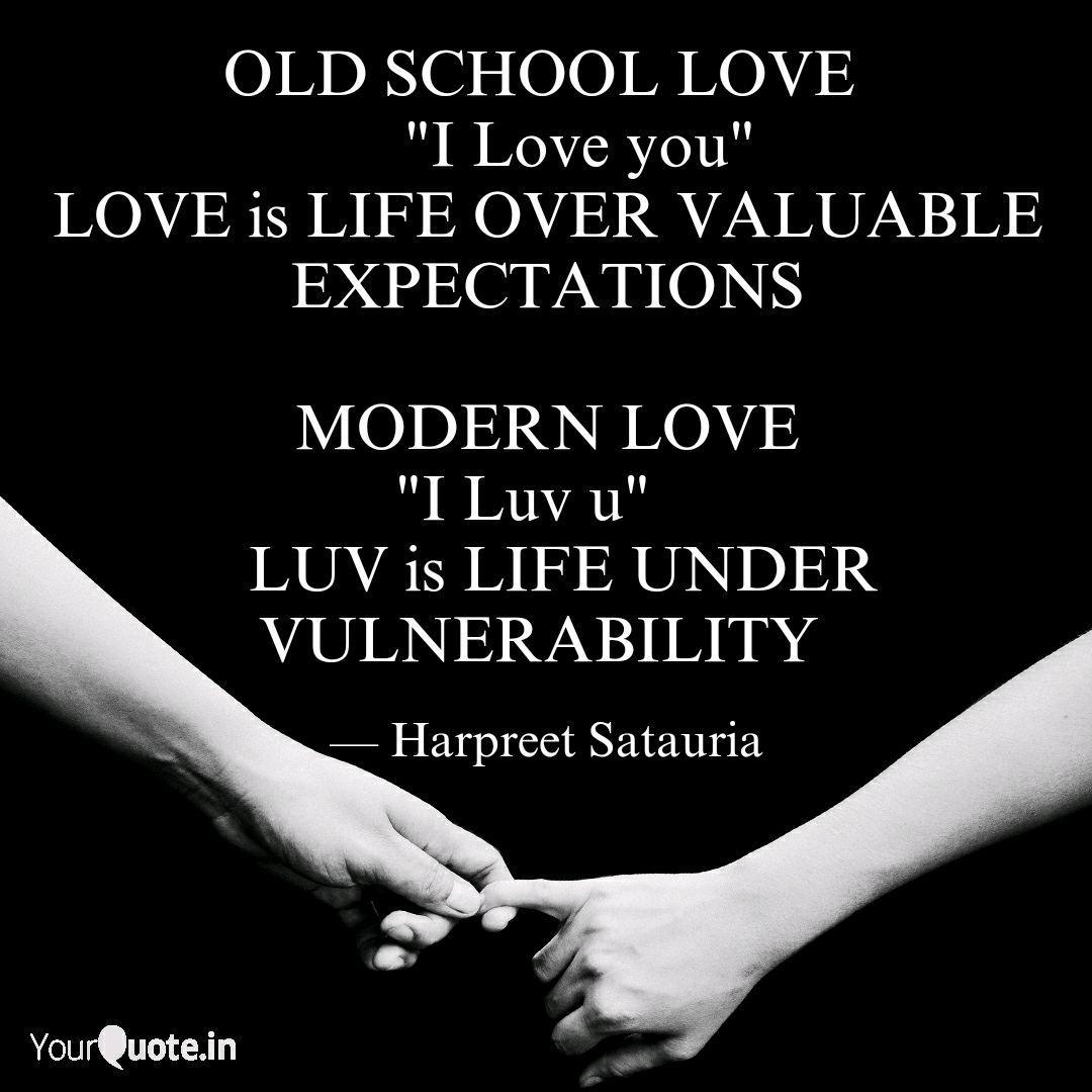 OLD SCHOOL LOVE \
