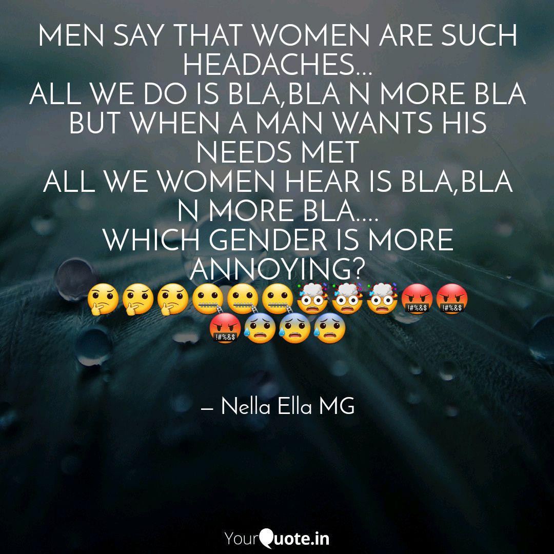 What what men women hear say What women
