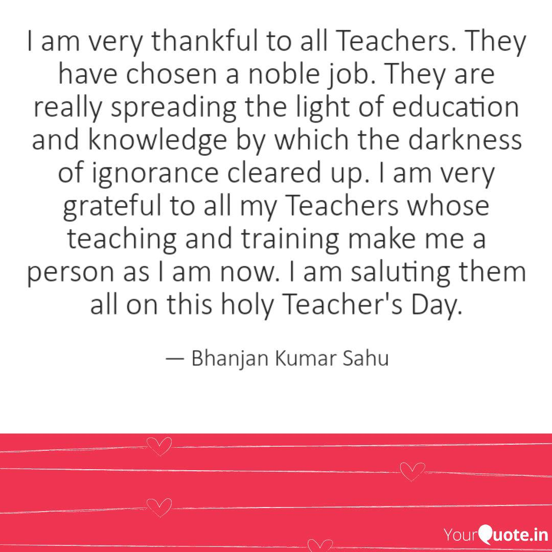 i am very thankful to all quotes writings by bhanjan kumar
