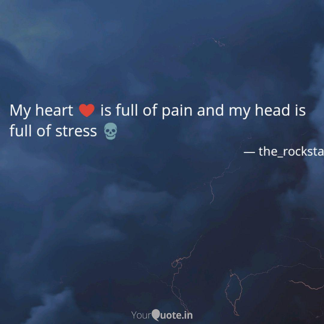 My heart ♥️ is full of pa... | Quotes & Writings by Jagrit ...