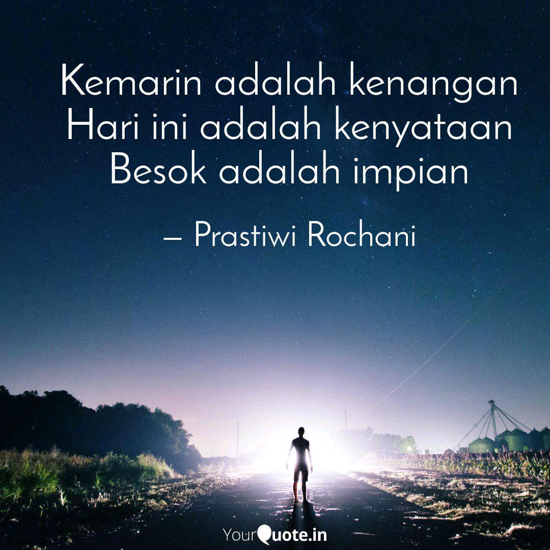 kemarin adalah kenangan h quotes writings by prastiwi