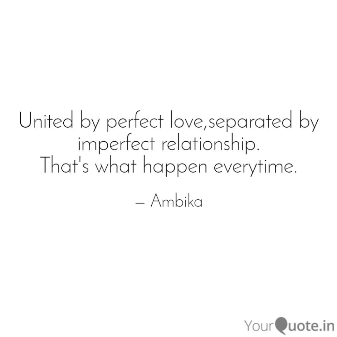united by perfect love se quotes writings by ambika pandey