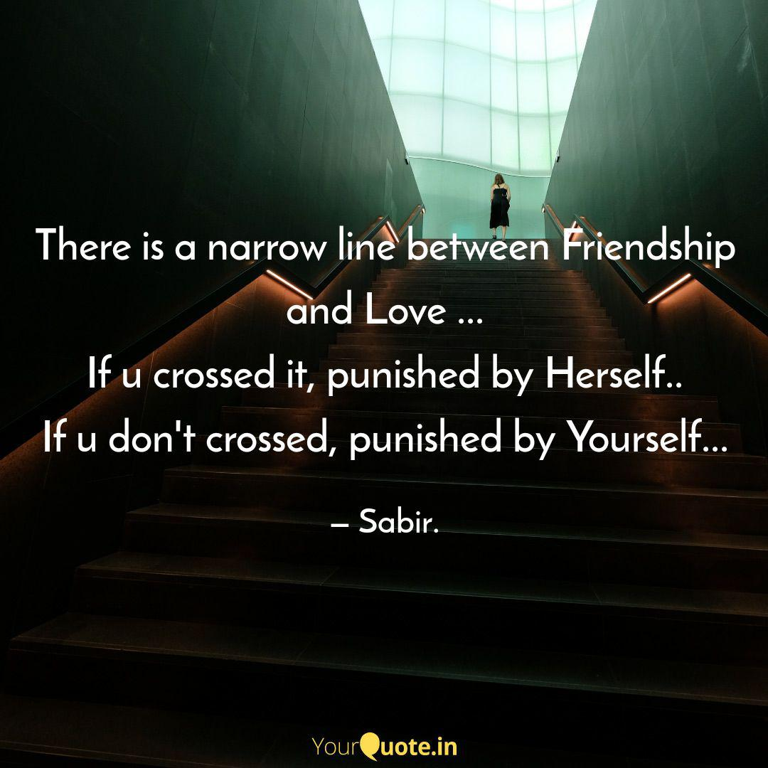 Line the u crossed crossed the