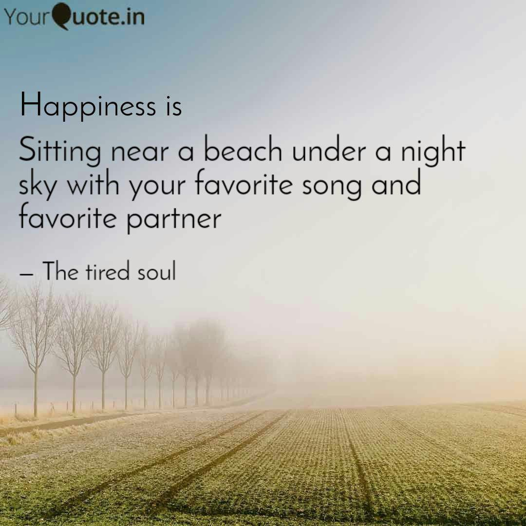 Sitting near a beach unde... | Quotes & Writings by ...