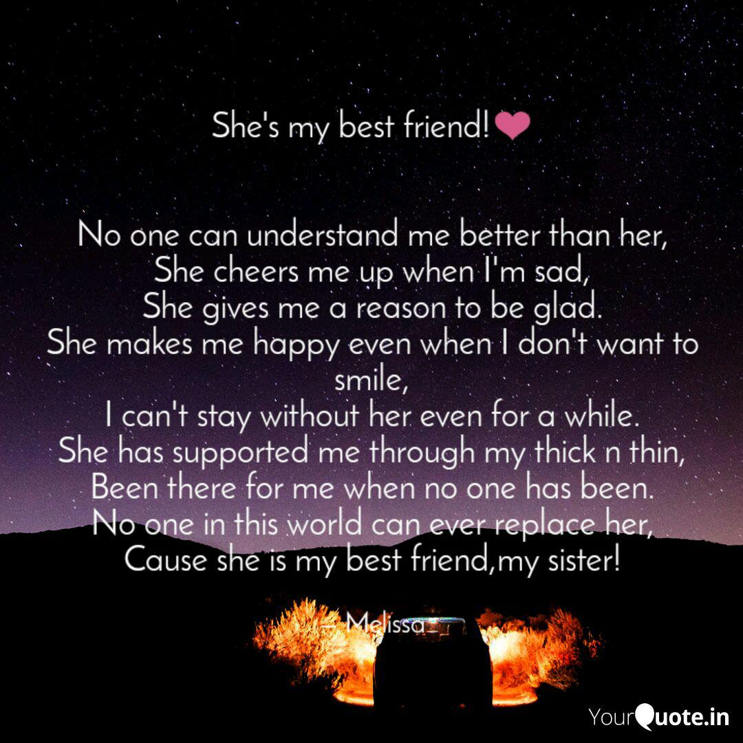 Best Shesmybestfriend Quotes Status Shayari Poetry Thoughts