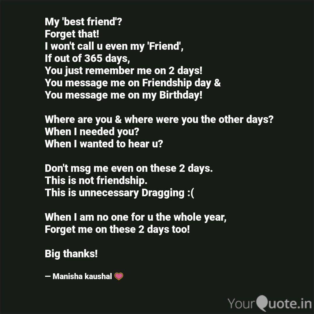 my best friend forget quotes writings by manisha