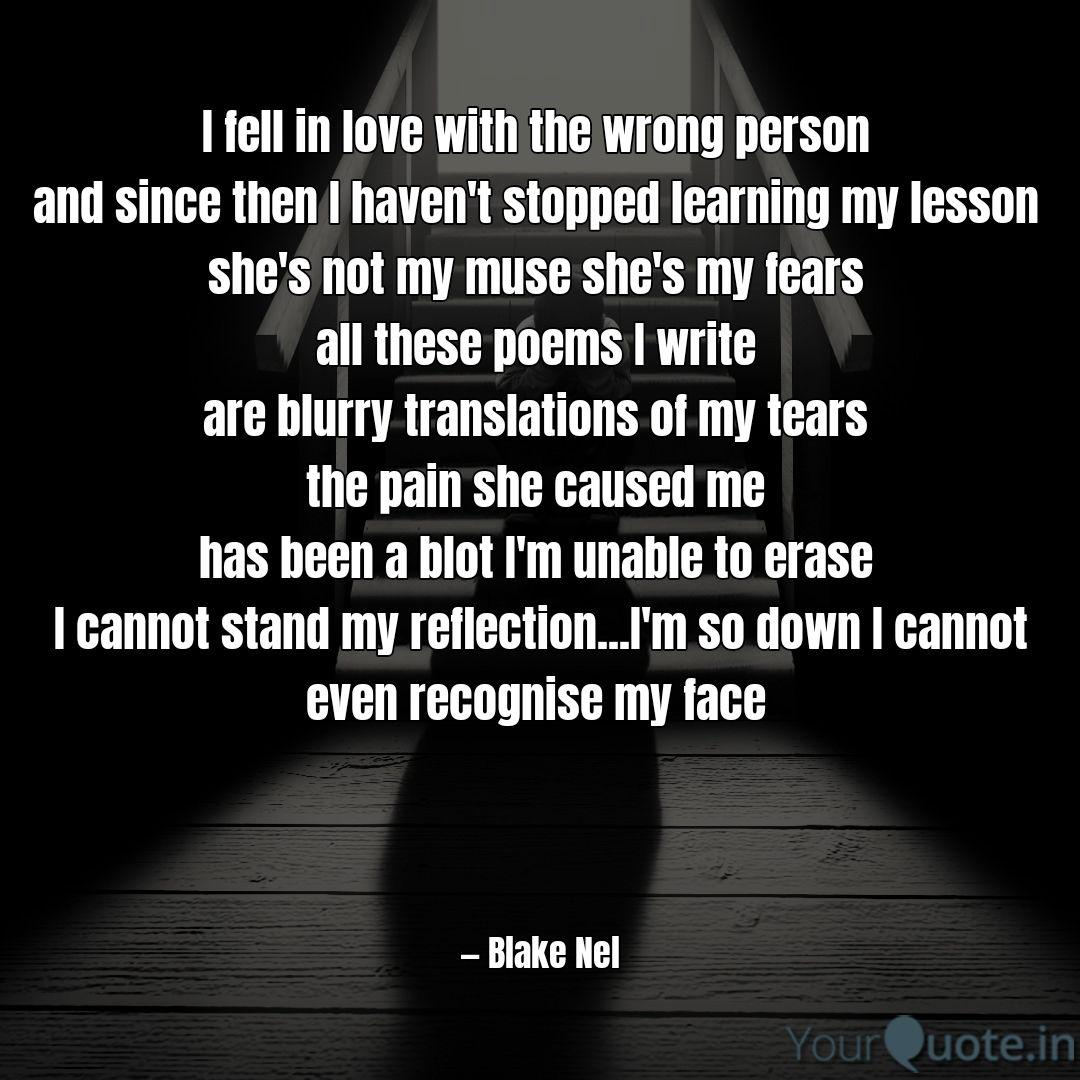 I fell in love with the w... | Quotes & Writings by Blake ...