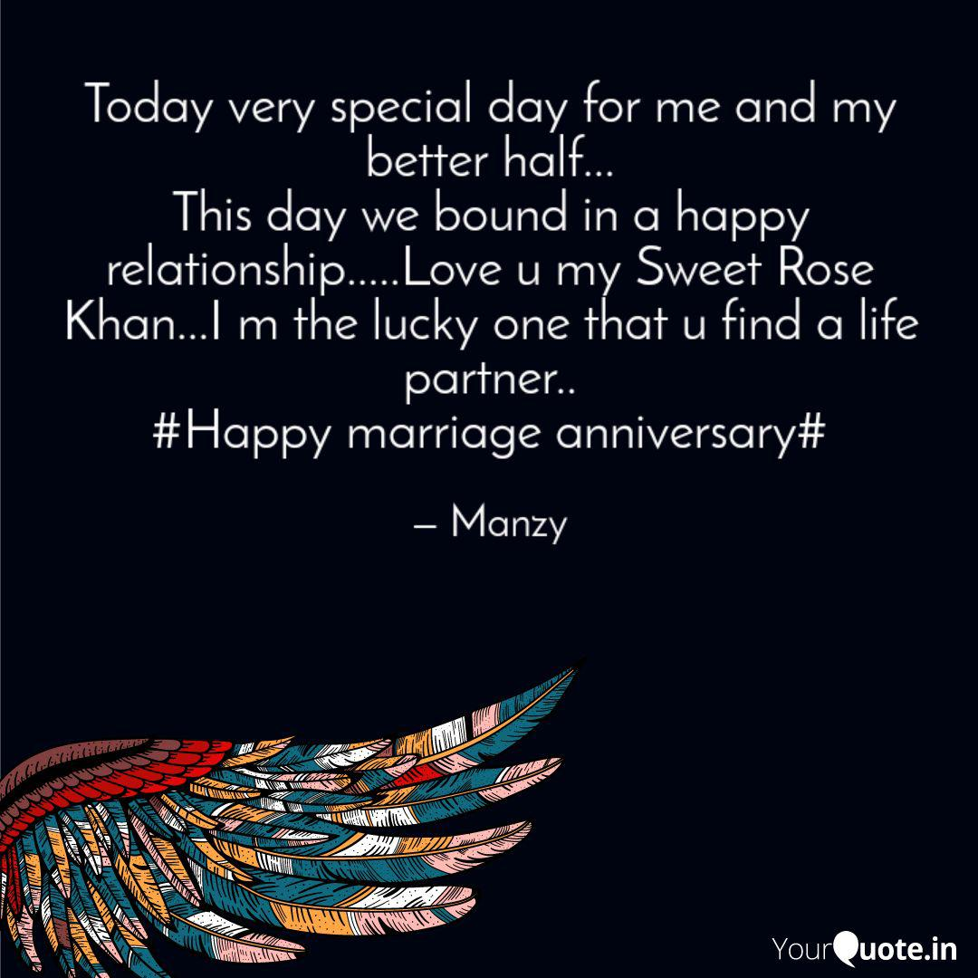 Today very special day fo  Quotes & Writings by Manzar Khan