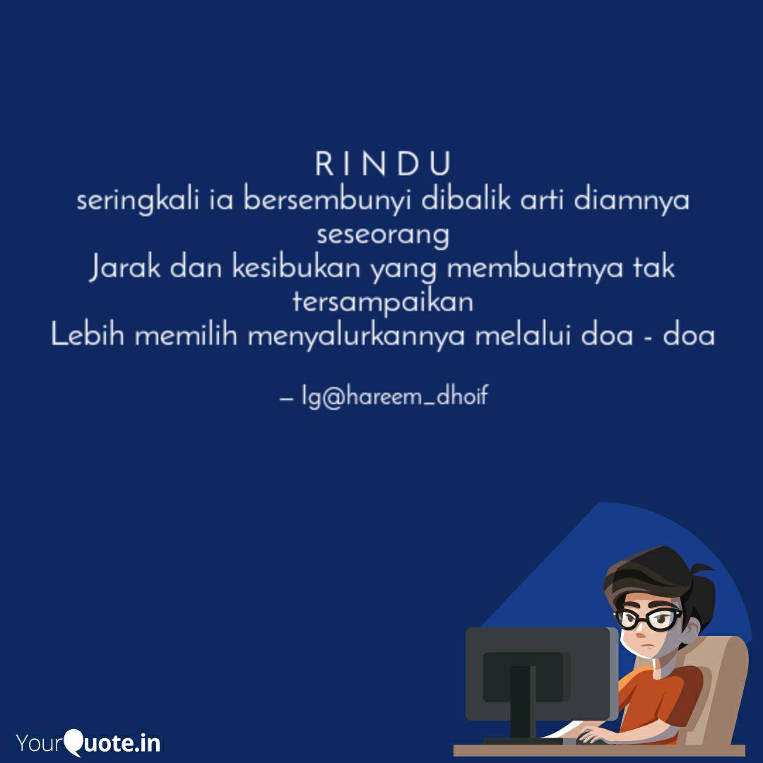 r i n d u seringkali ia b quotes writings by hareem dhoif