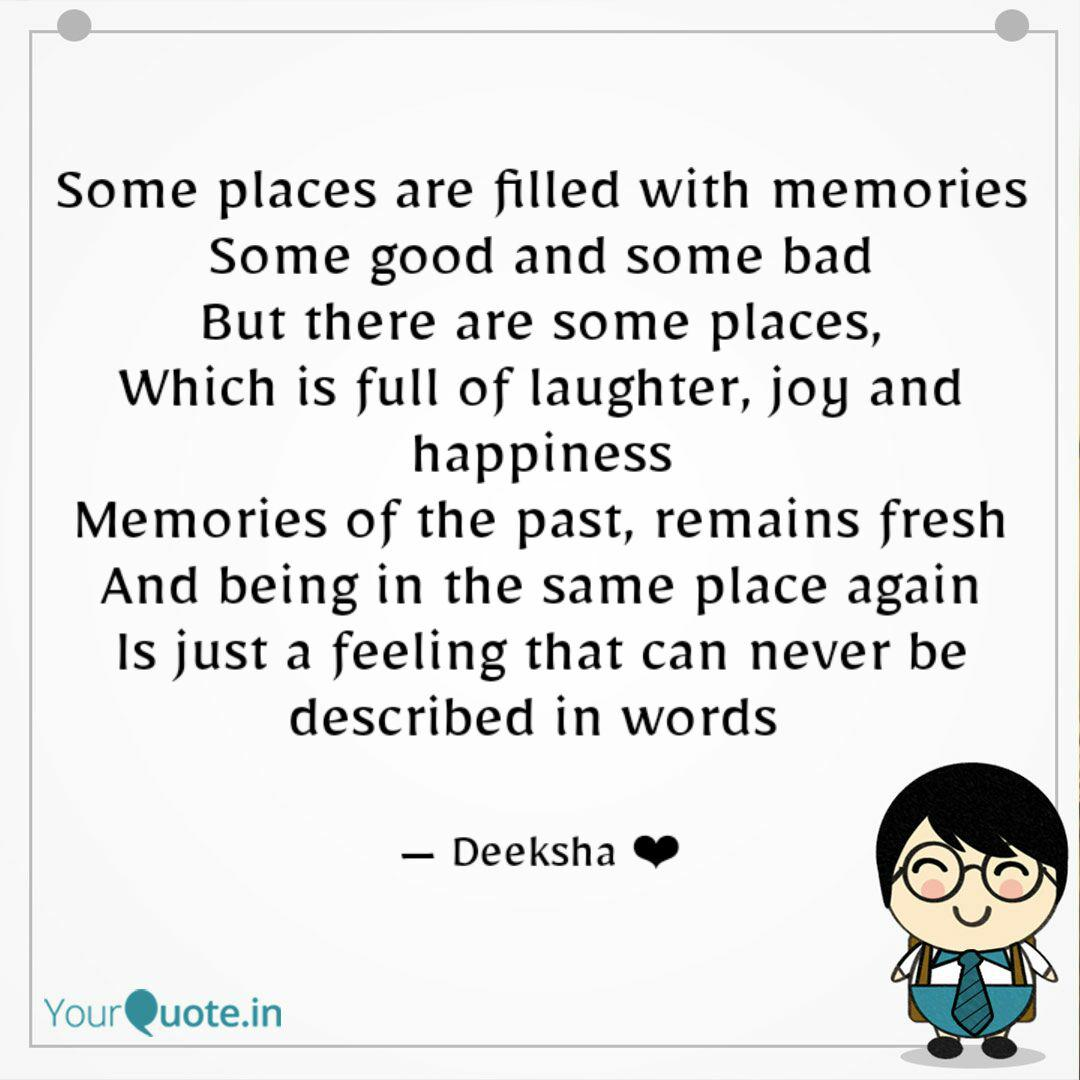 some places are filled wi quotes writings by deeksha