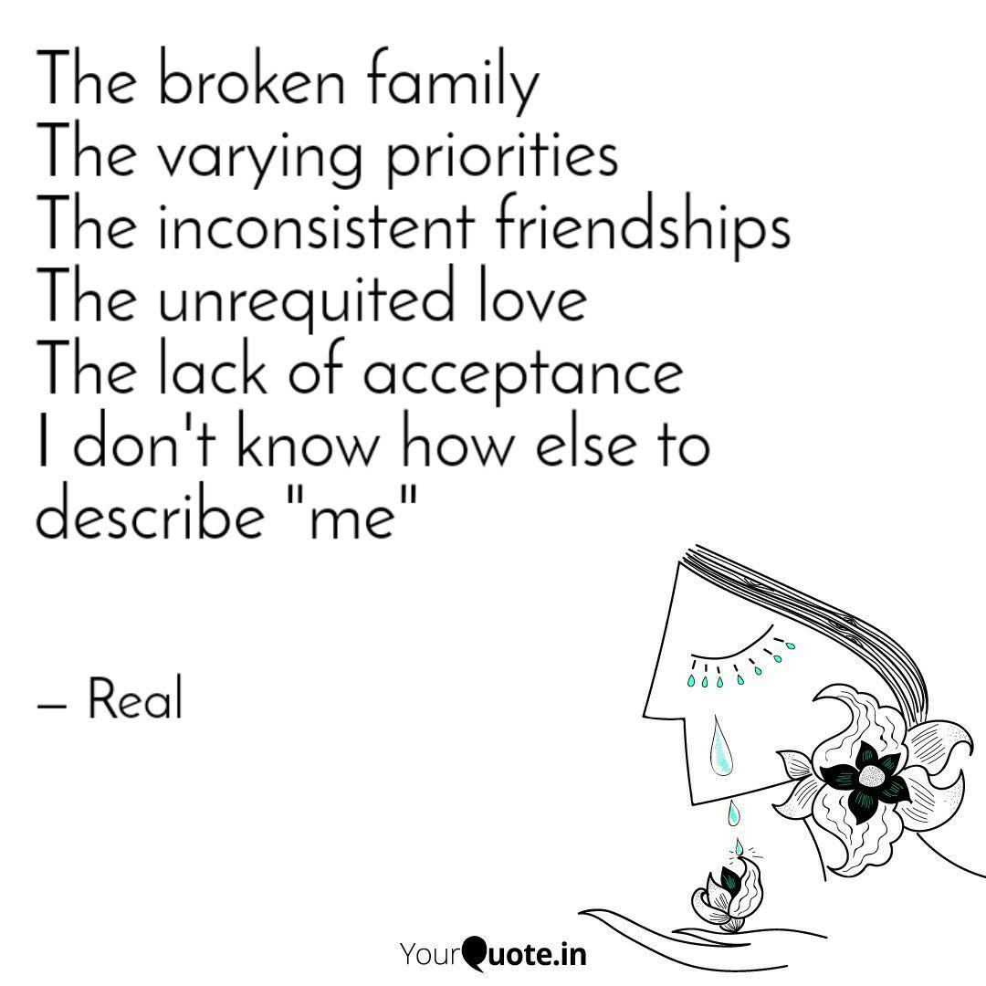 The broken family The var... | Quotes & Writings by Real ...