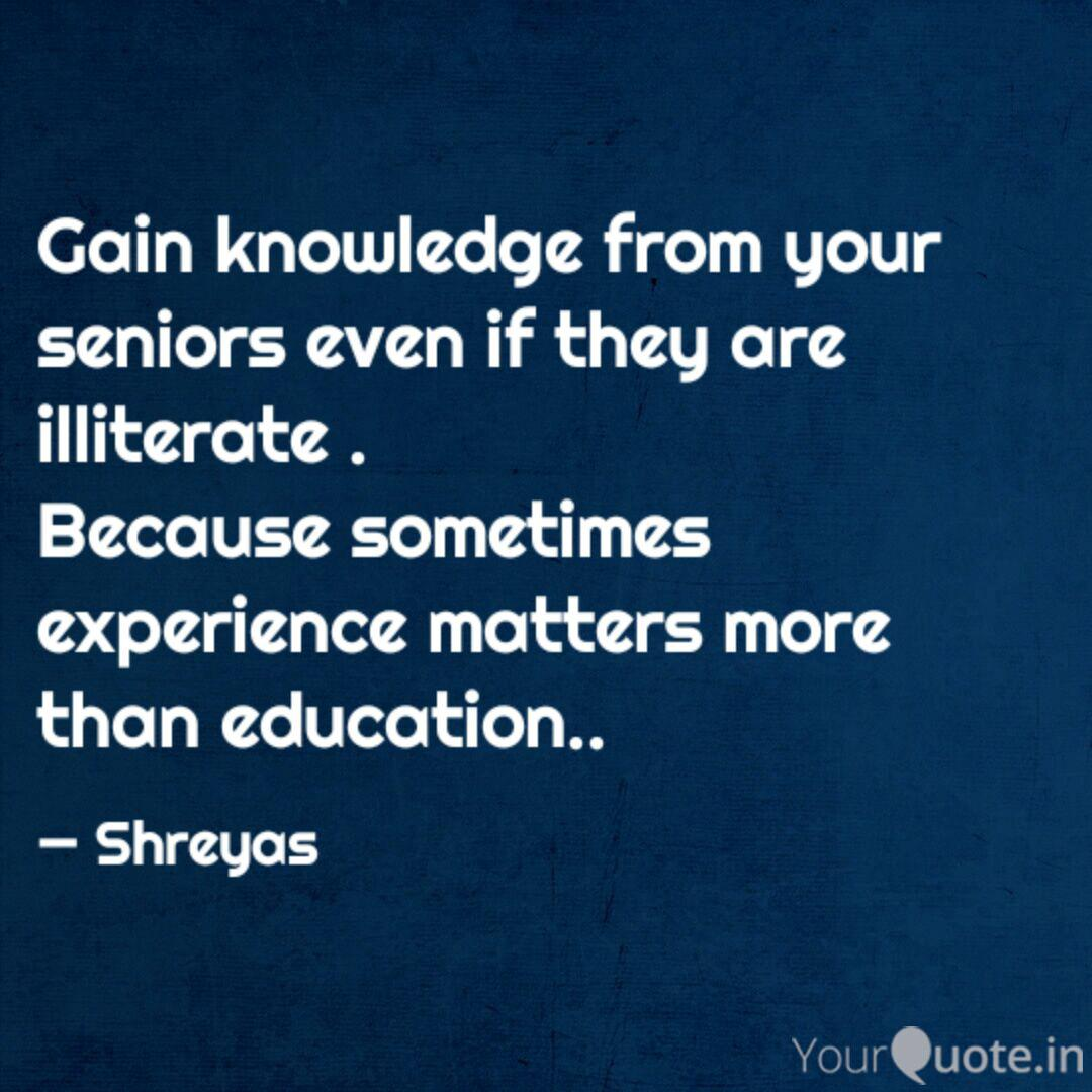 gain knowledge from your quotes writings by shreyas