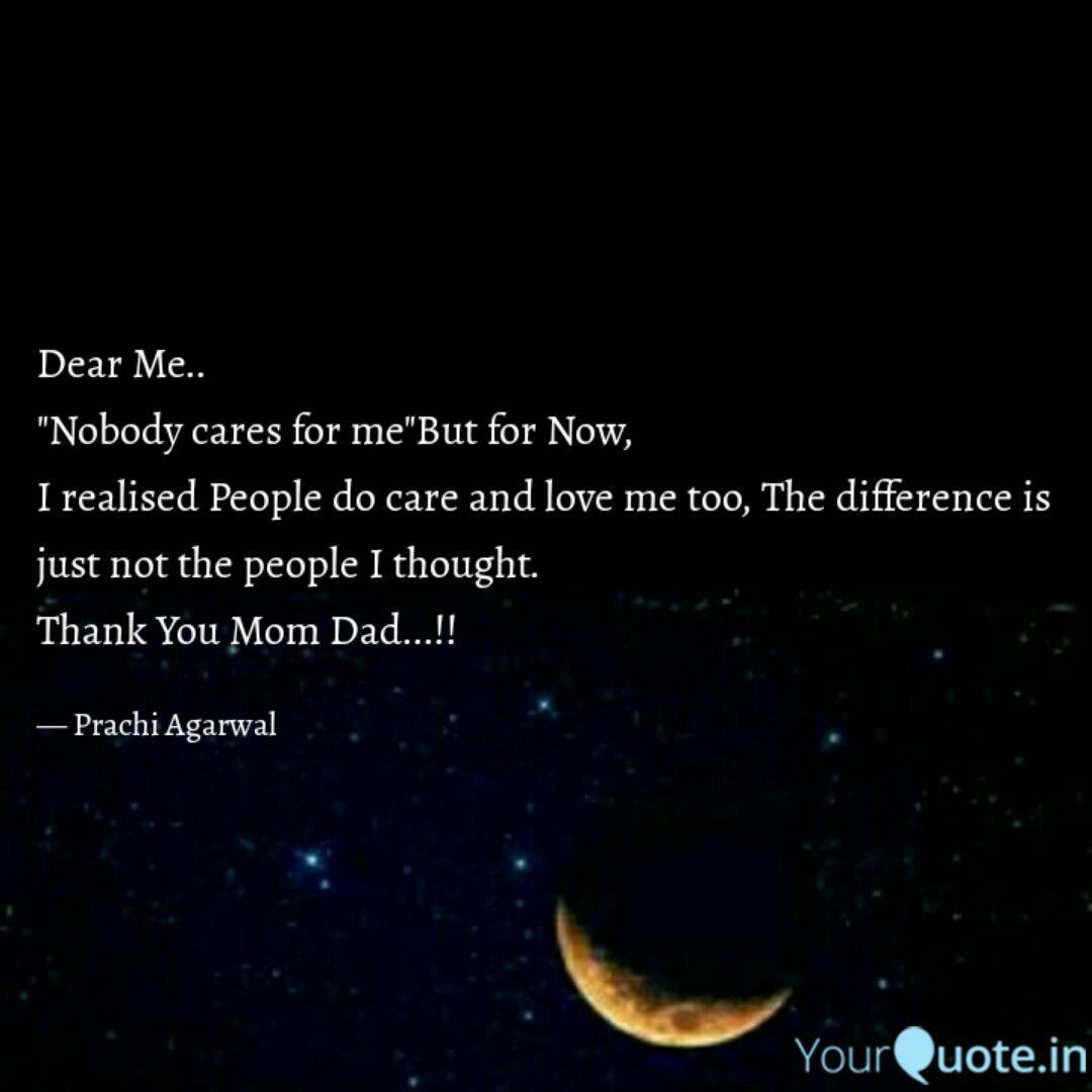 Dear Me.. \