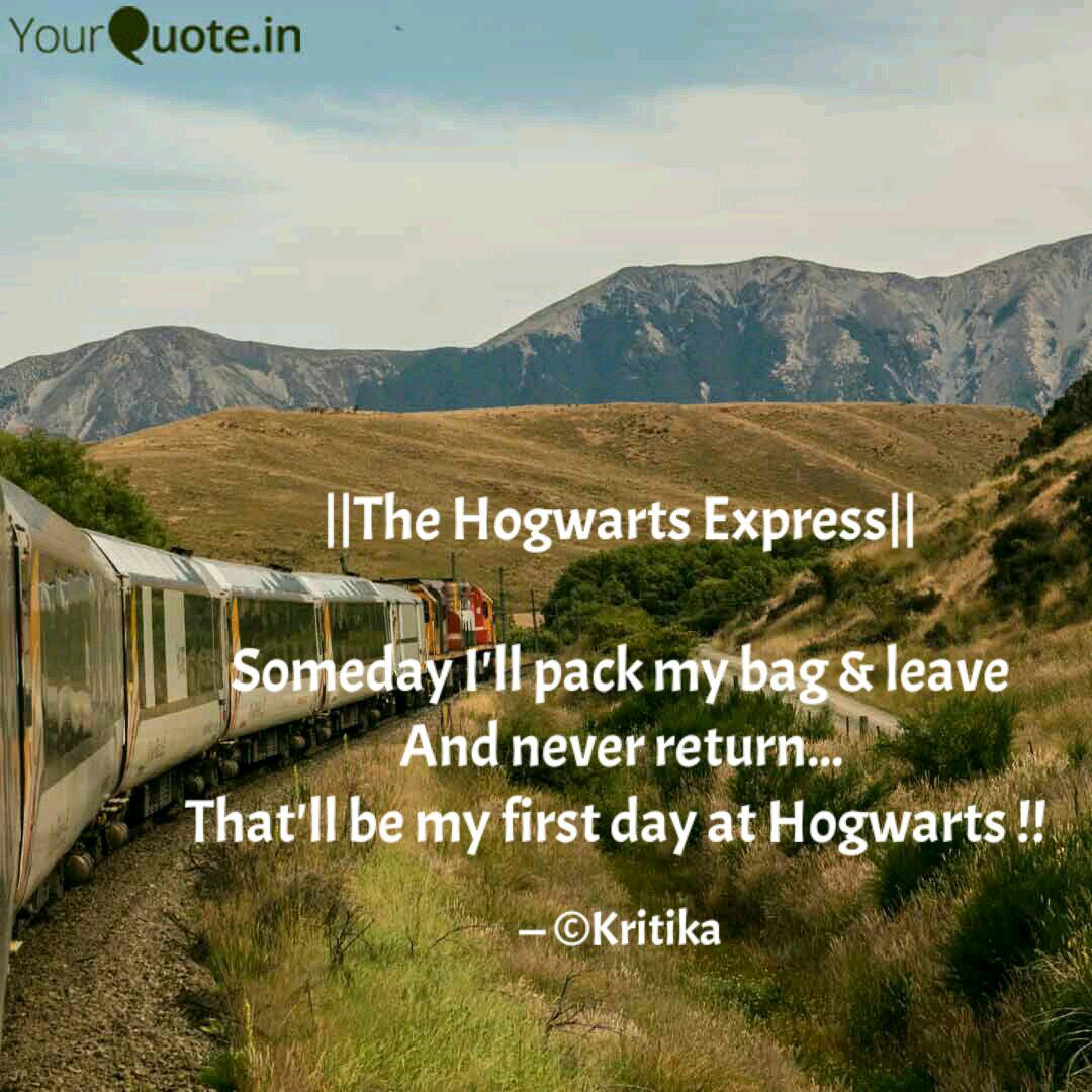 the hogwarts express quotes writings by kritika