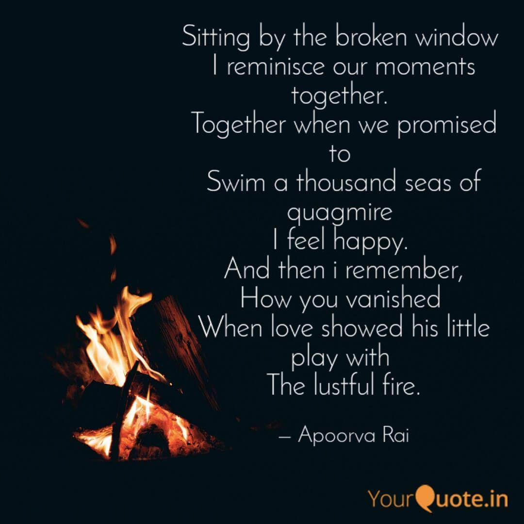 sitting by the broken win quotes writings by apoorva rai