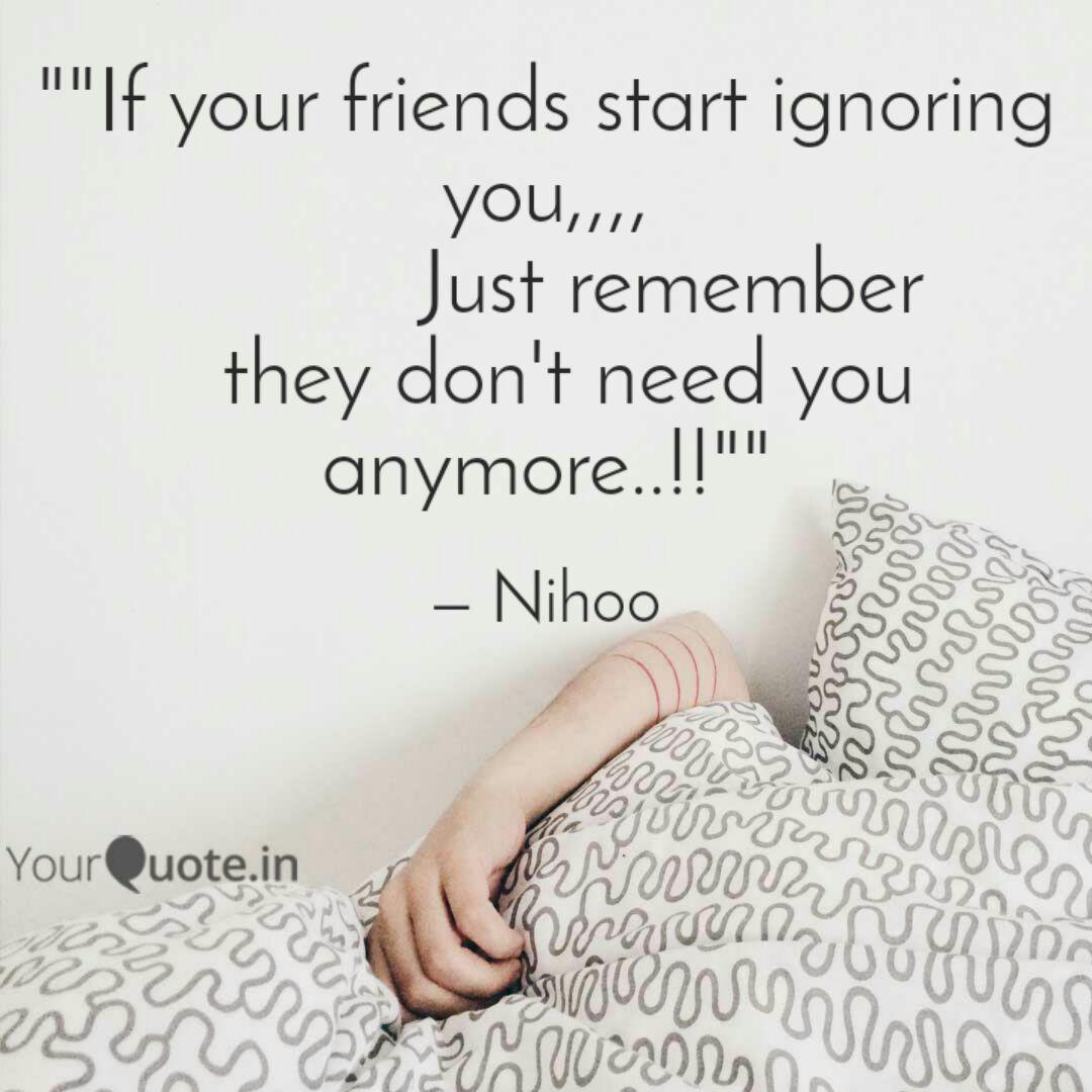 if your friends start i quotes writings by niharika singh