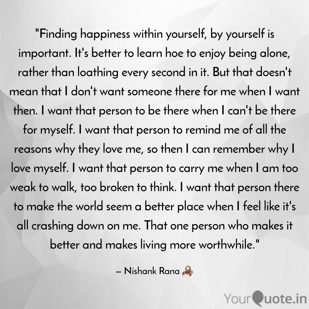 finding happiness in quotes writings by nishank rana