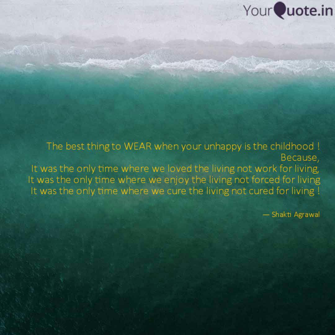 the best thing to wear wh quotes writings by shakti agrawal