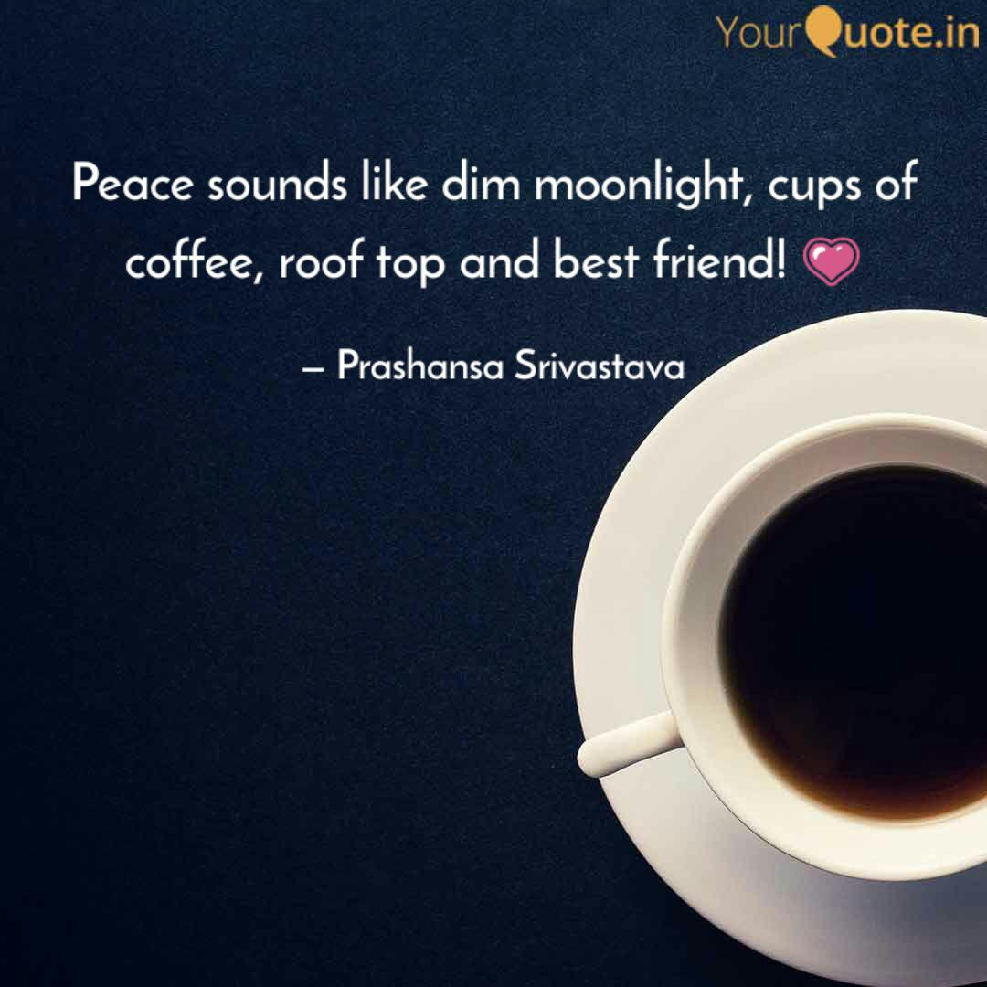 peace sounds like dim moo quotes writings by prashansa