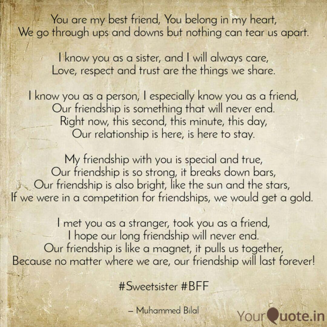 You Are My Best Friend Y Quotes Writings By حسبي الله Yourquote