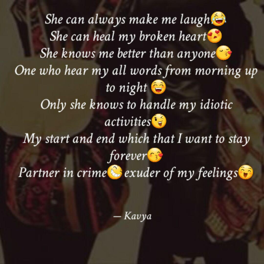 She Can Always Make Me La Quotes Writings By Kavya Ssevaraja