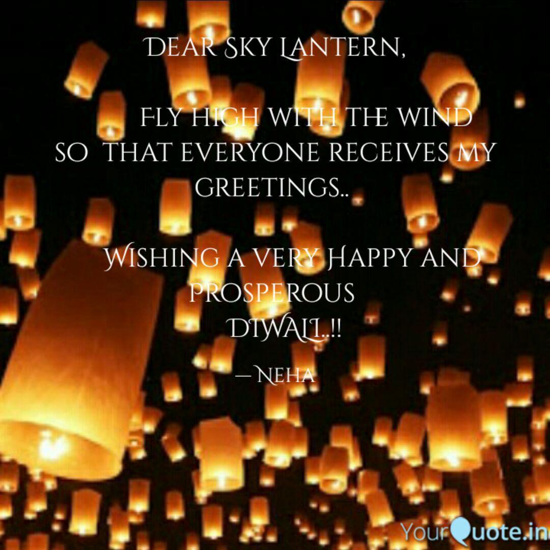 Dear Sky Lantern Quotes Writings By Neha Khatavkar Yourquote