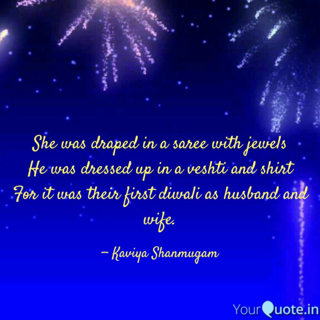 she was draped in a saree quotes writings by kaviya