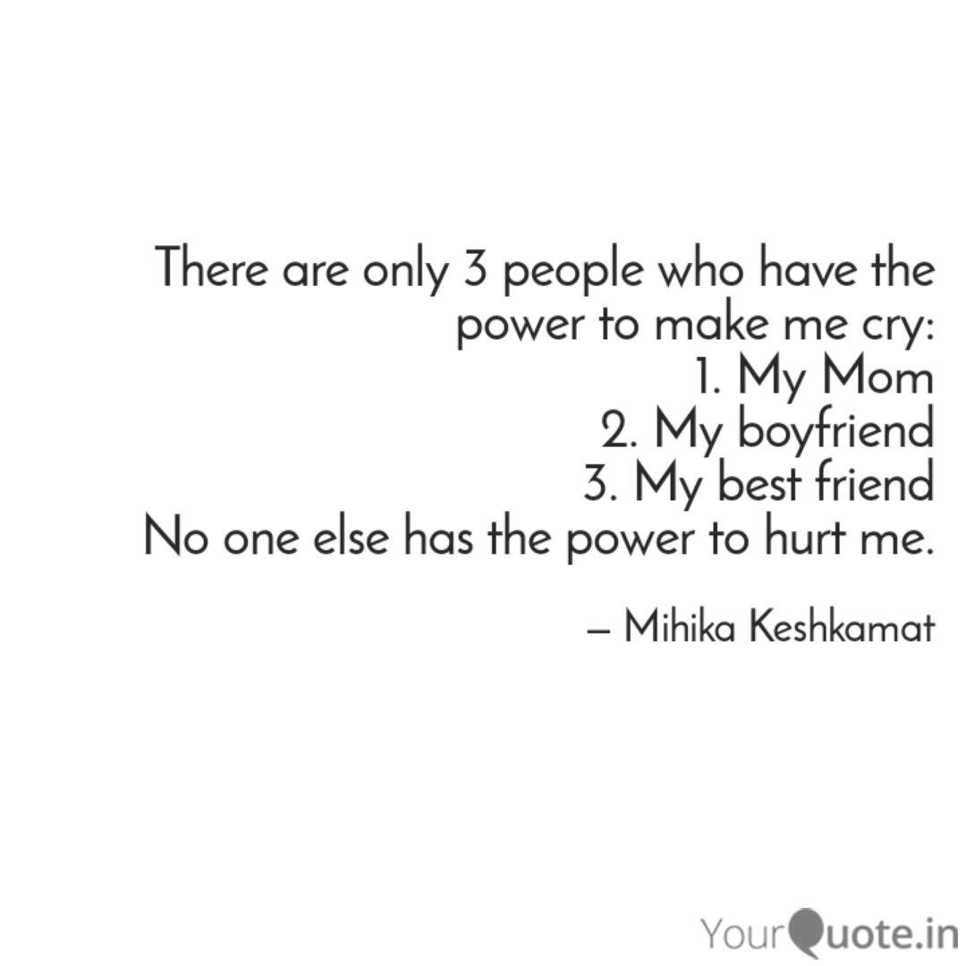 Makes me cry my boyfriend Love Poems