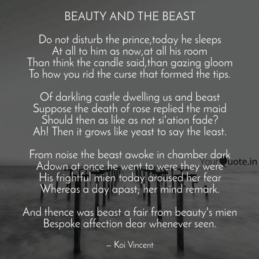 Beauty And The Beast Do Quotes Writings By Vince Nick Yourquote