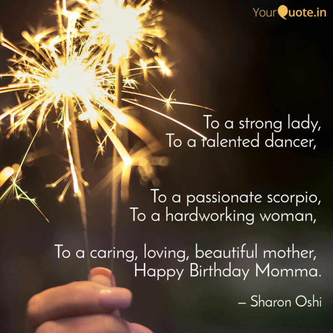 To A Strong Lady To A Ta Quotes Writings By Sharon Oshi Yourquote