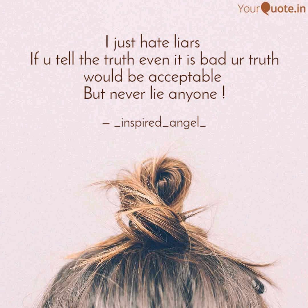 Hating liars about quotes BIBLE VERSES