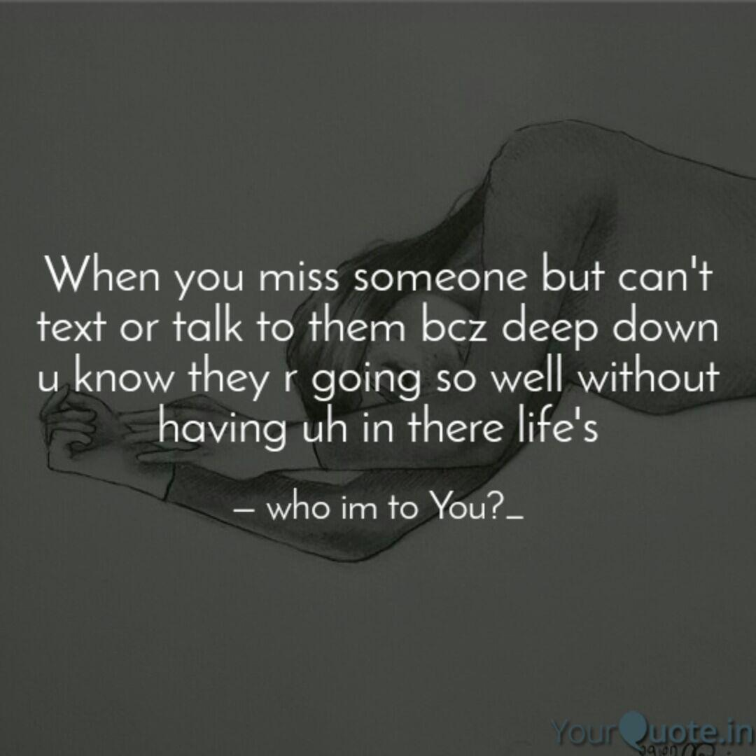 What to say to someone you miss