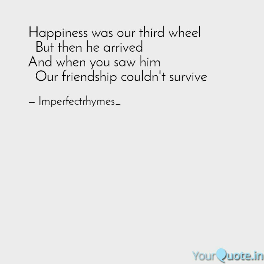 Happiness was our third w... | Quotes & Writings by Paolo ...