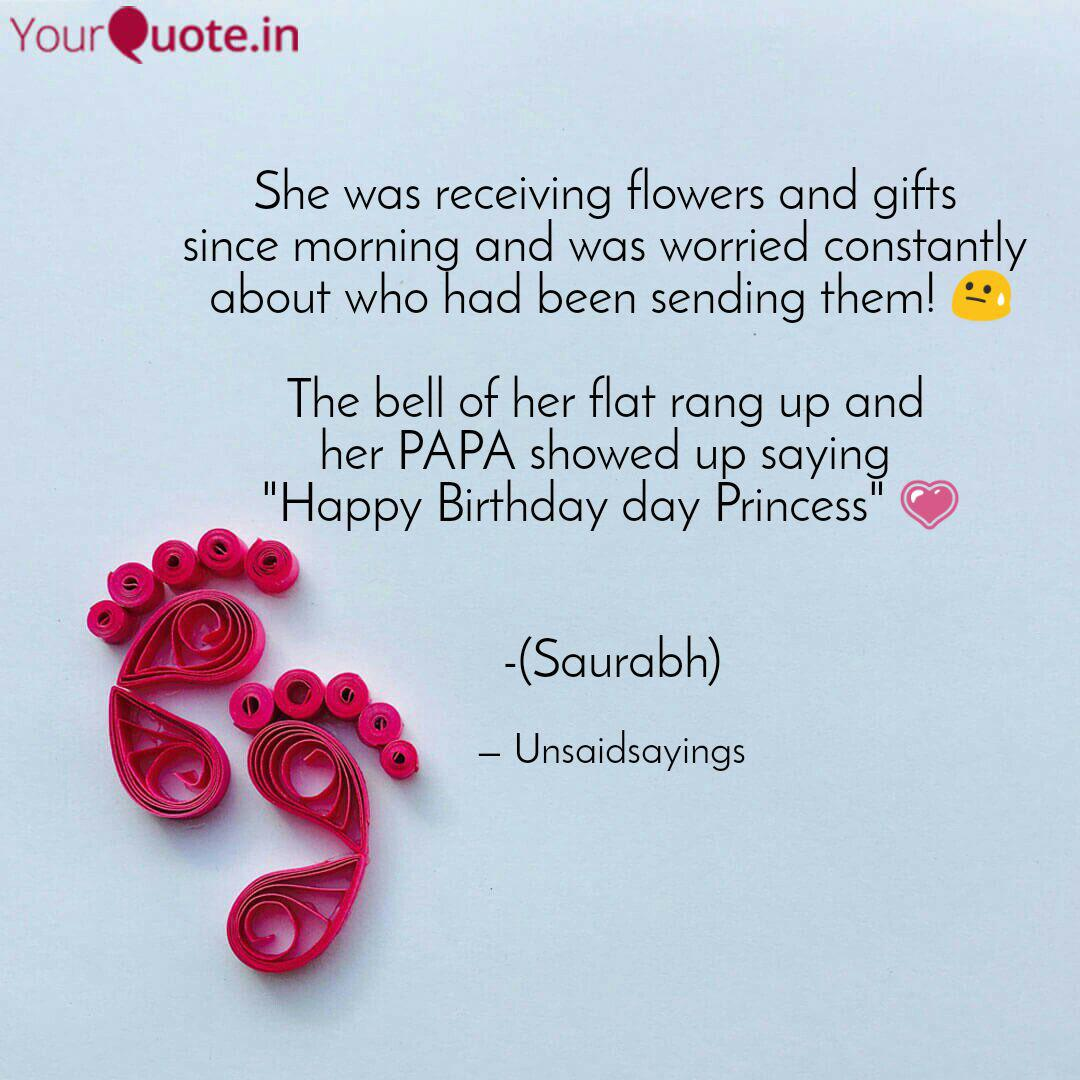 Wedding Flowers Quote: She Was Receiving Flowers...