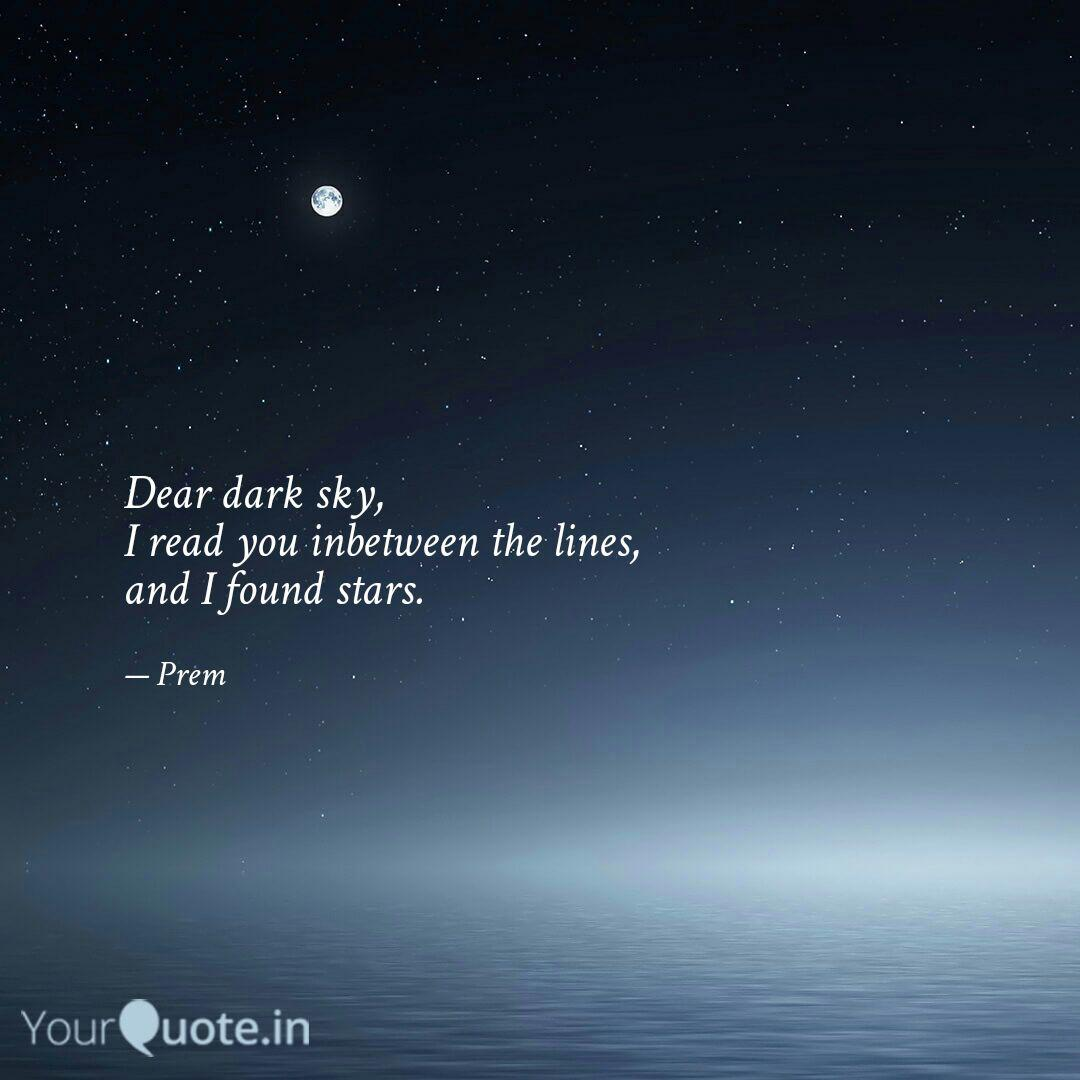 best darksky quotes status shayari poetry thoughts yourquote