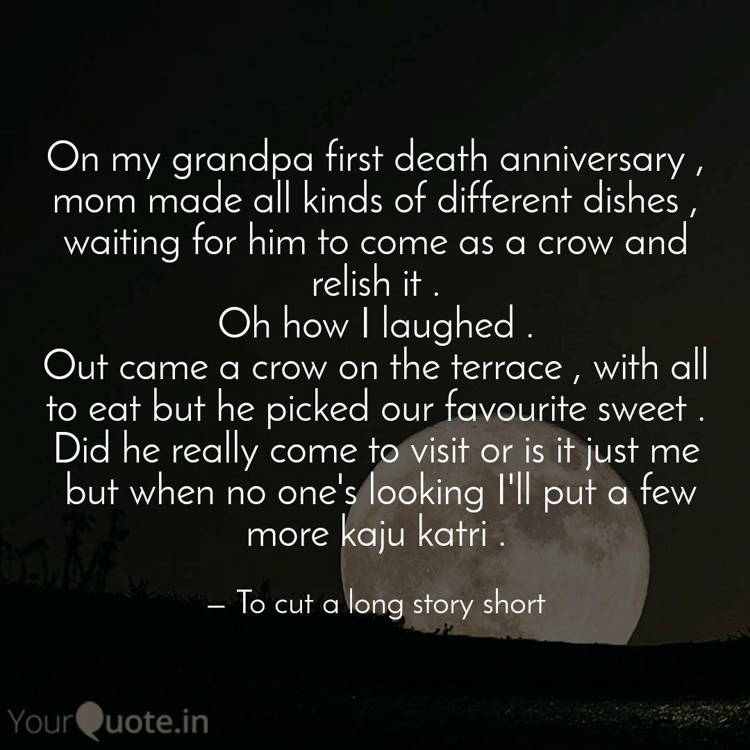 On my grandpa first death... | Quotes & Writings by Soul ...
