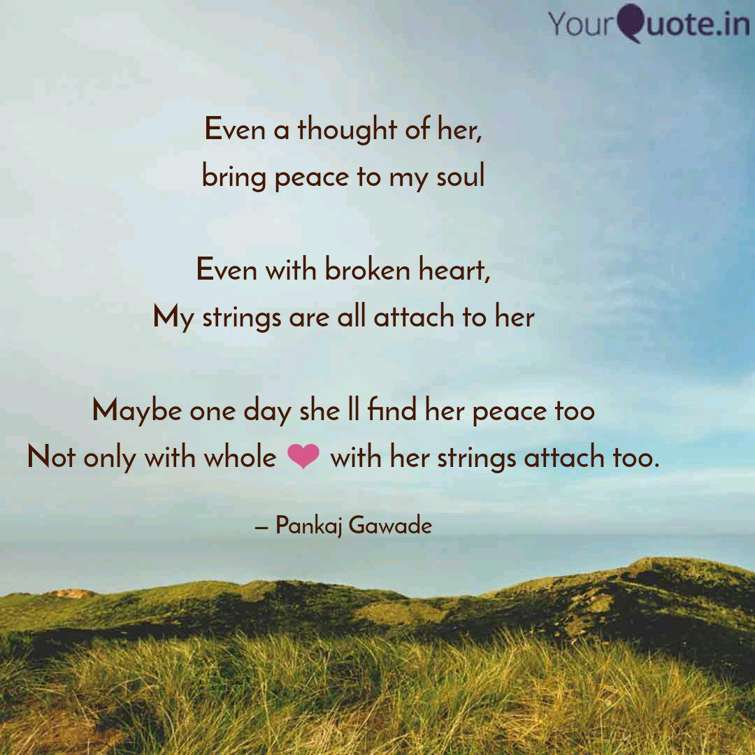Even A Thought Of Her Br Quotes Writings By Simple Thoughts Yourquote