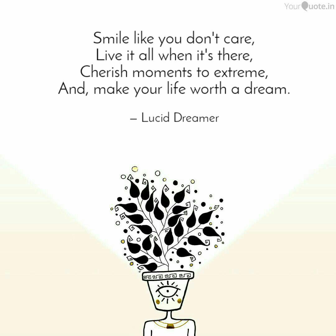 smile like you don t care quotes writings by anand nautiyal