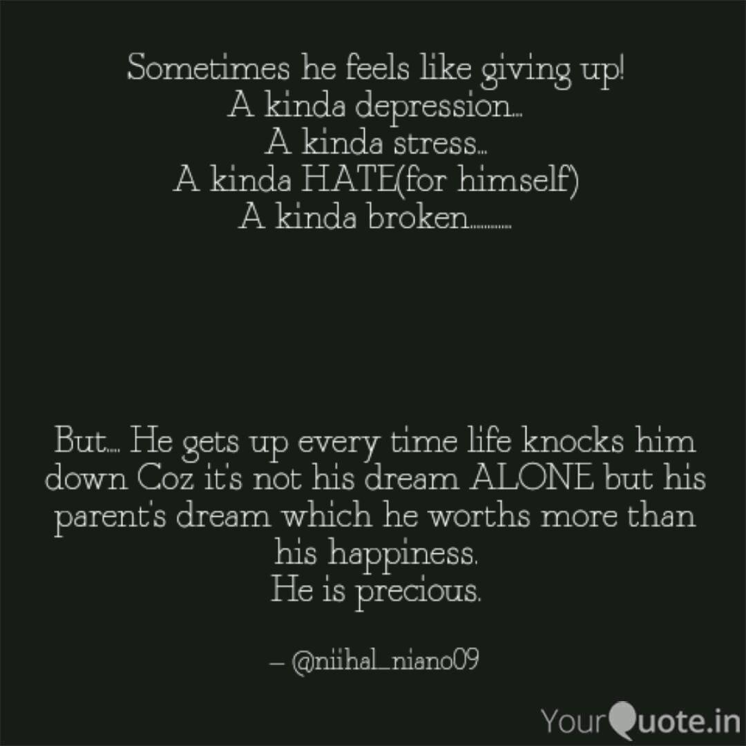 sometimes he feels like g quotes writings by niihal thapa