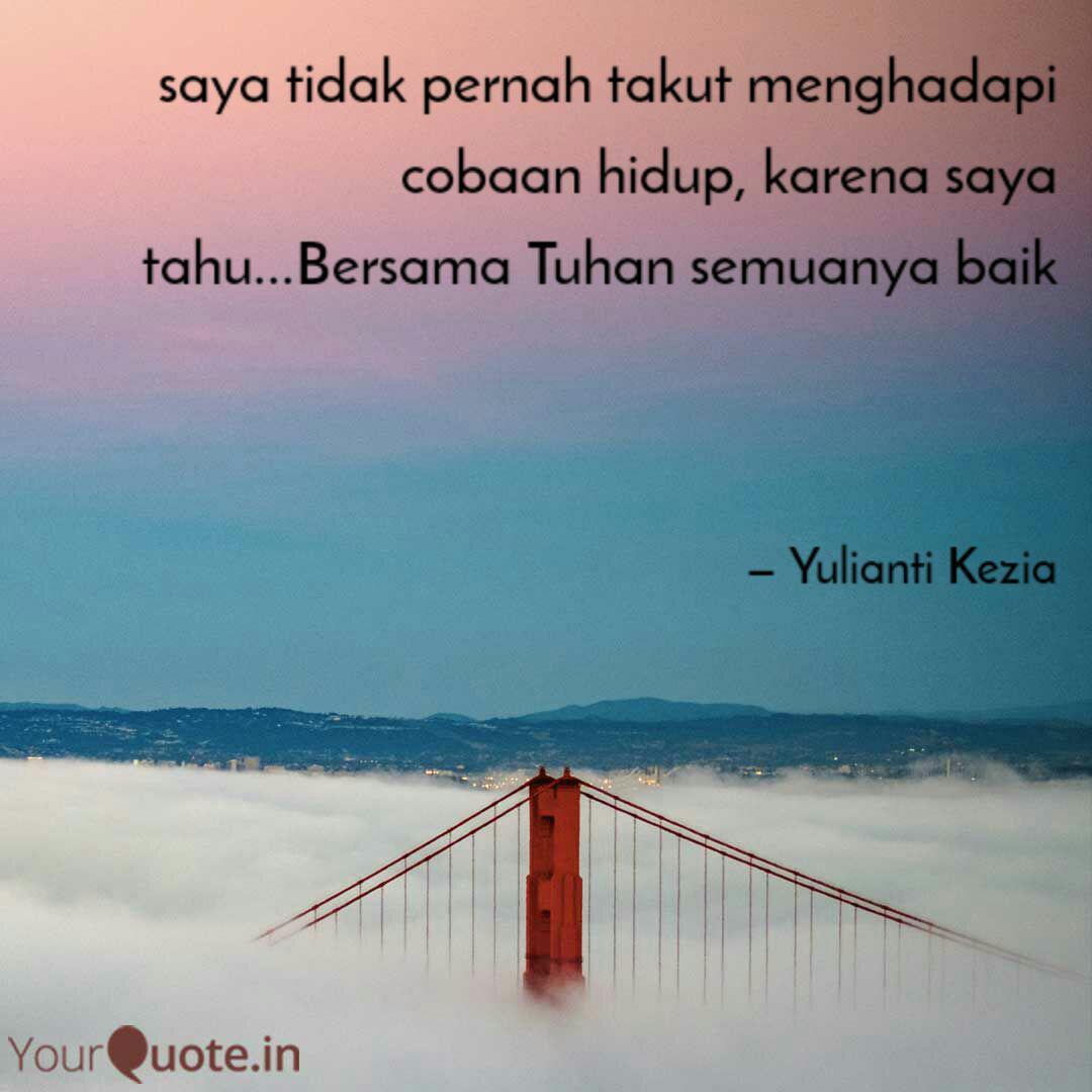 saya tidak pernah takut m quotes writings by yulianti kezia