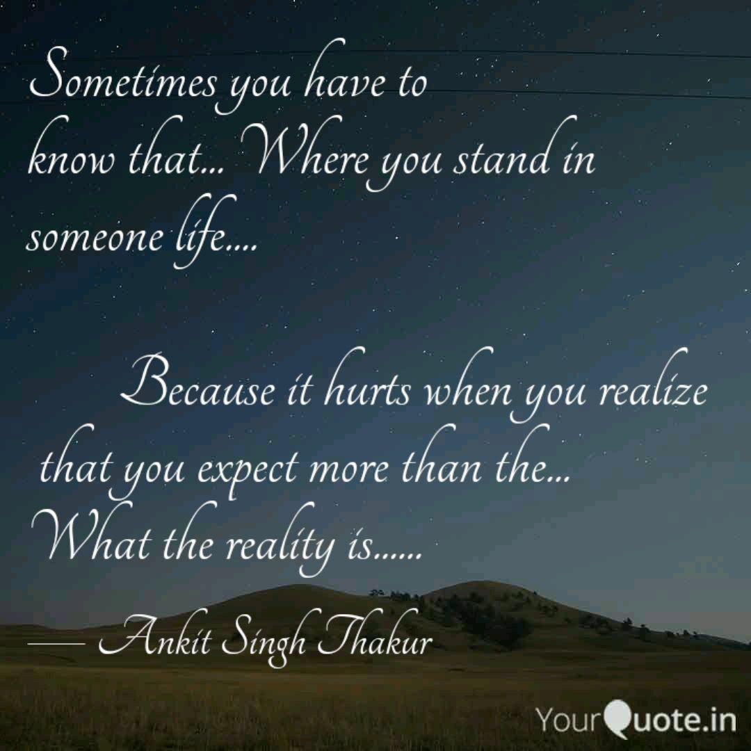 Sometimes you have to kn  Quotes & Writings by Ankit Singh
