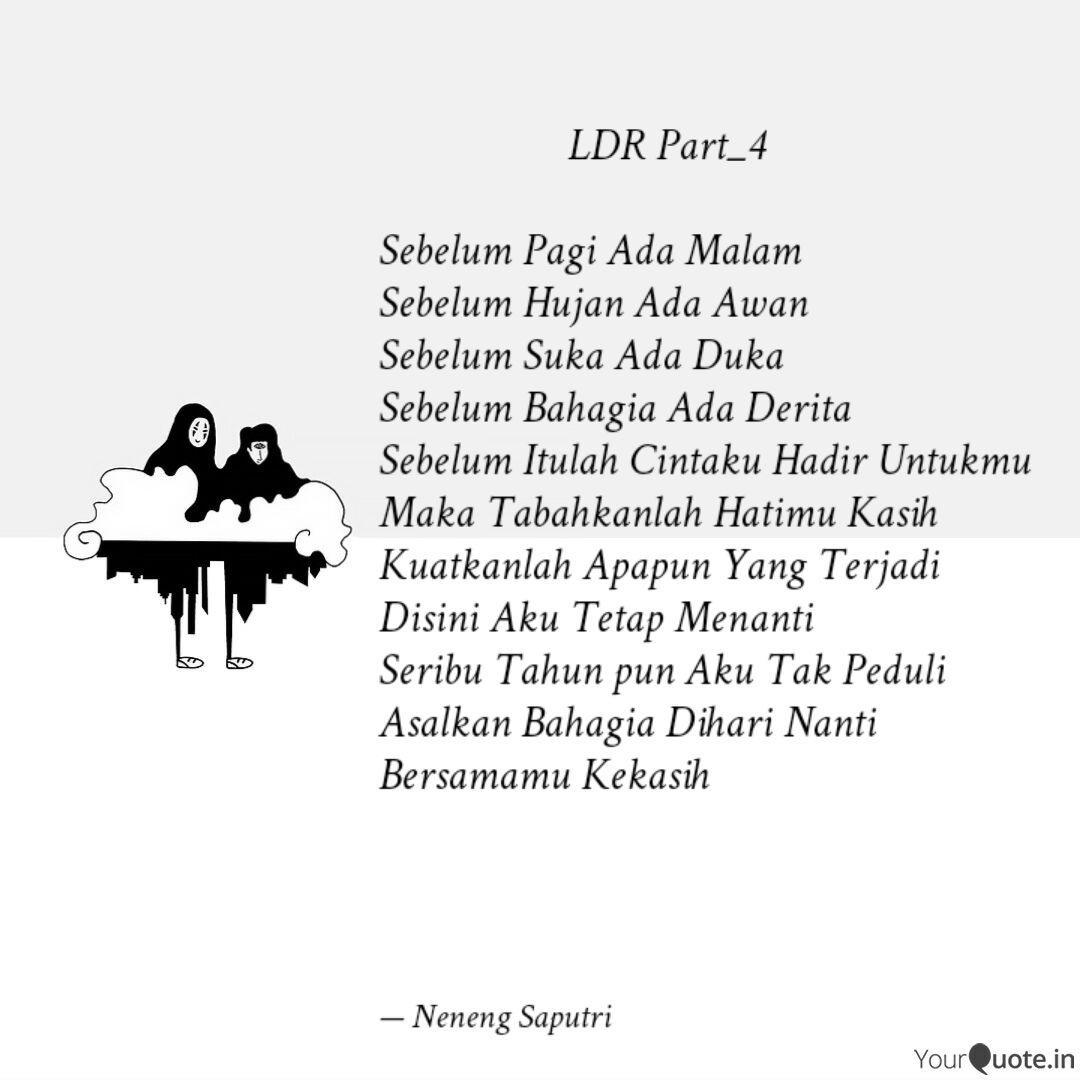 ldr par quotes writings by neneng saputri s tr keb