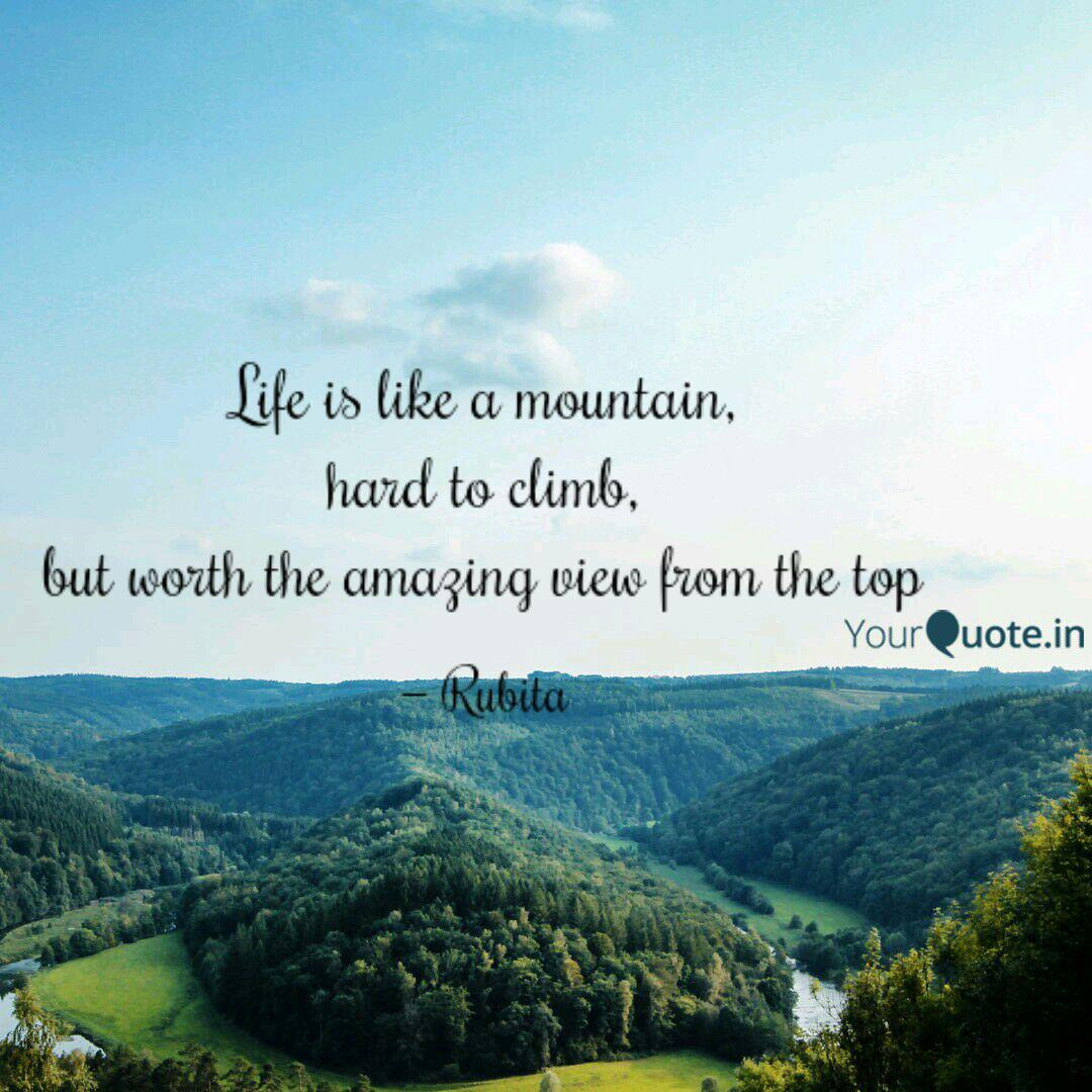 Image result for view from the top of the mountain quotes