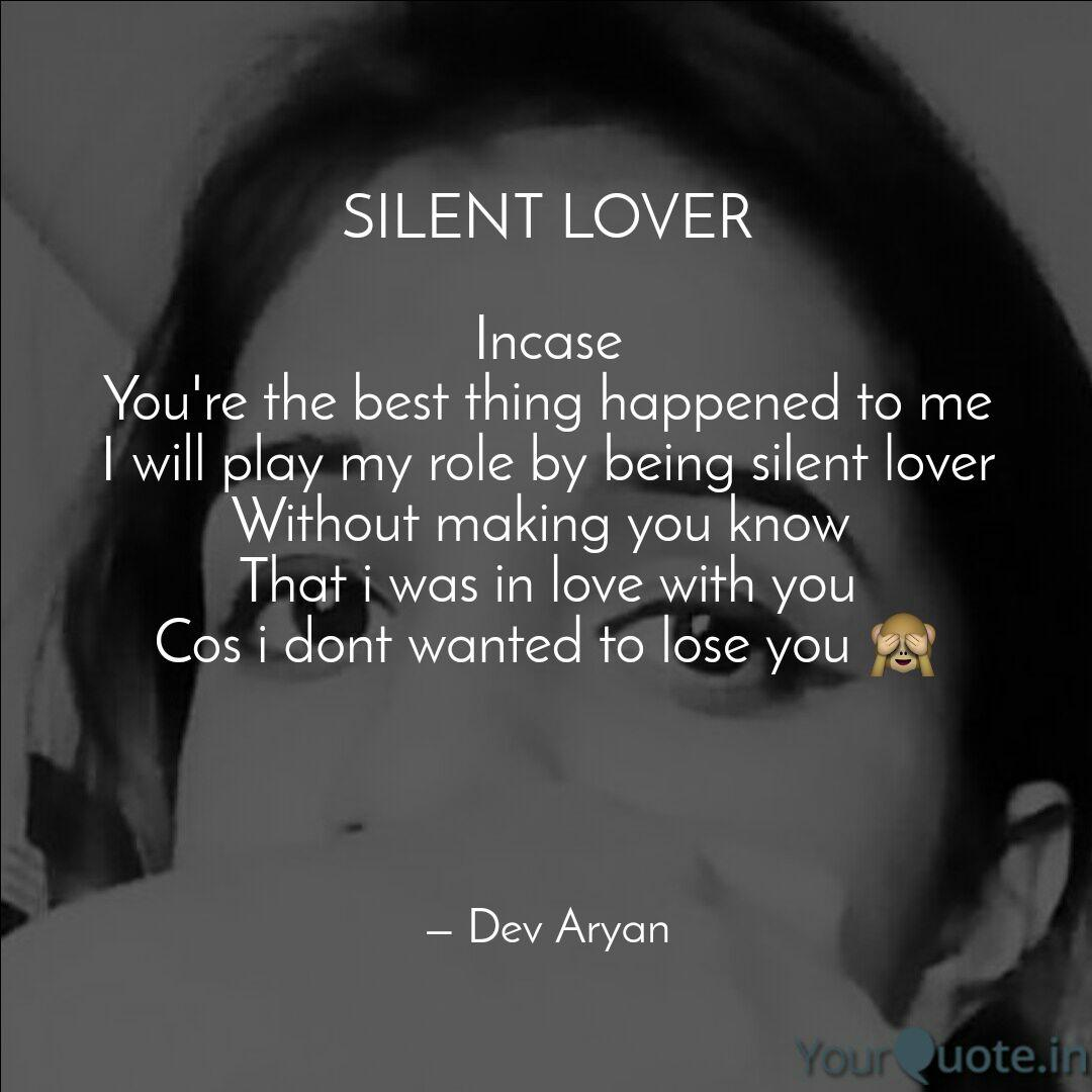 Best Quotes Silent Love 94 Quotes