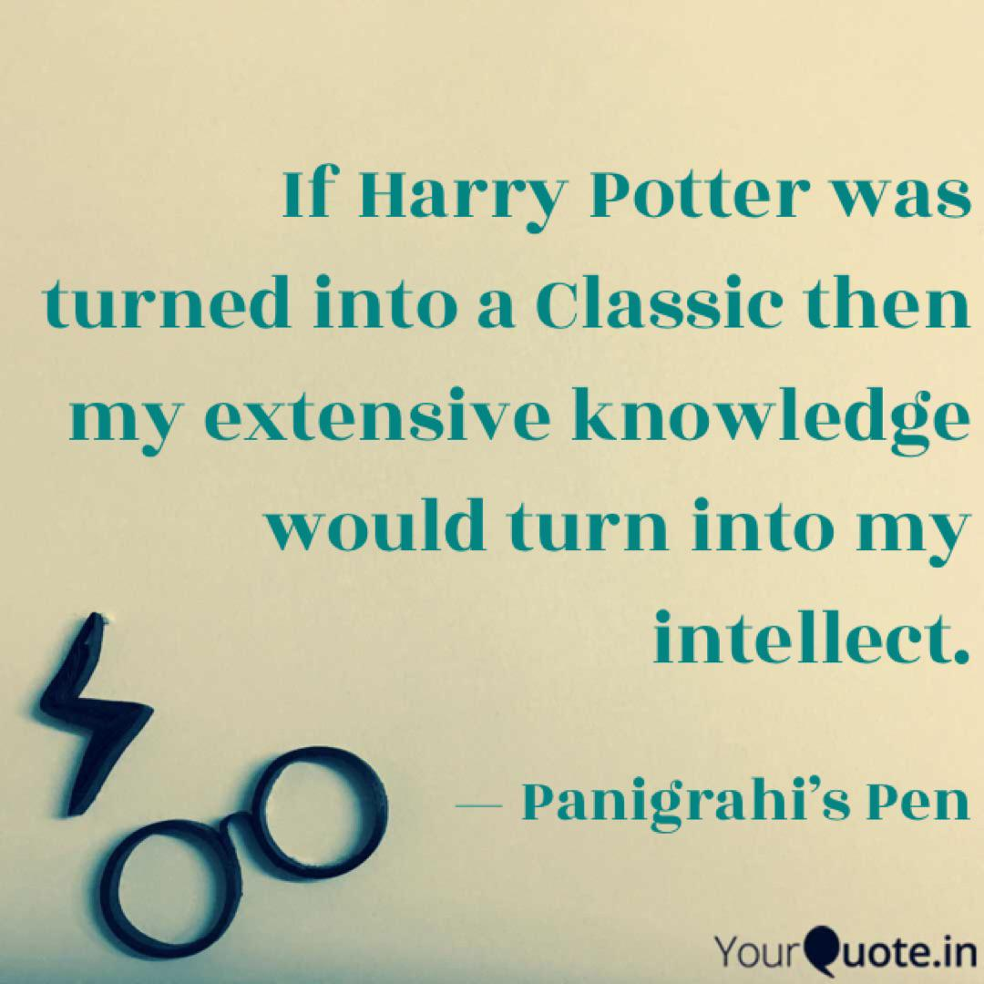 if harry potter was turne quotes writings by vishal