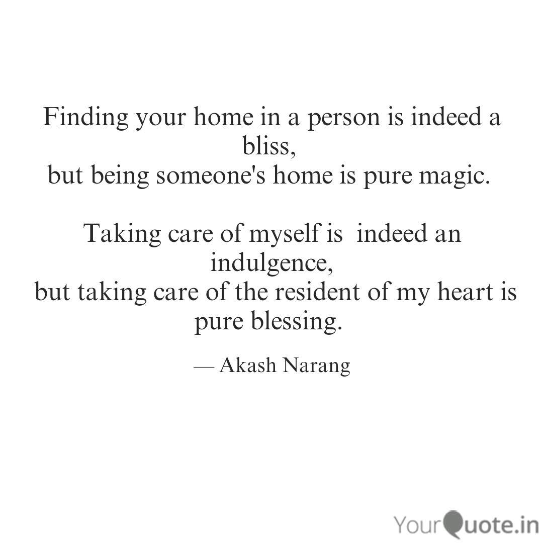finding your home in a pe quotes writings by akash narang